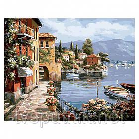 Картина по номерам Белоснежка «Летний городок» 362-CG