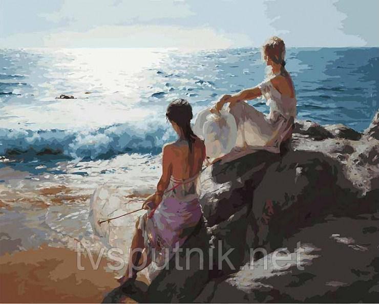 Картина за номерами Білосніжка «У самого синього моря» 937-AB