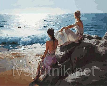 Картина за номерами Білосніжка «У самого синього моря» 937-AB, фото 2