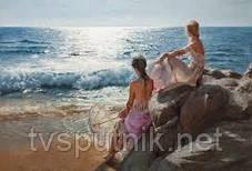 Картина за номерами Білосніжка «У самого синього моря» 937-AB, фото 3