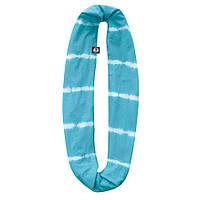 Шарф-снуд Buff Cotton Infinity Turquoise Shibori