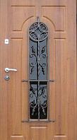 """Стальная дверь элит класса для улицы """"Портала"""" (Элит Vinorit) ― модель Ковка 31, фото 1"""