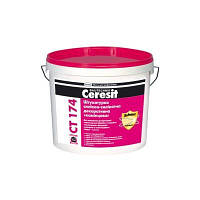 Штукатурка силикон-силикатная Ceresit CТ 174 камешковая 25 кг