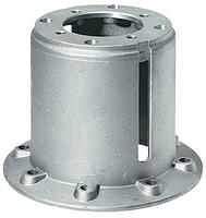 Фланец центровочный H 100/112 (B14) Колокол для аппарата высокого давления ( Корпус защиты муфты )