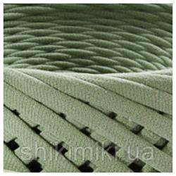 Трикотажная пряжа Bobilon (50 м), цвет Оливковый