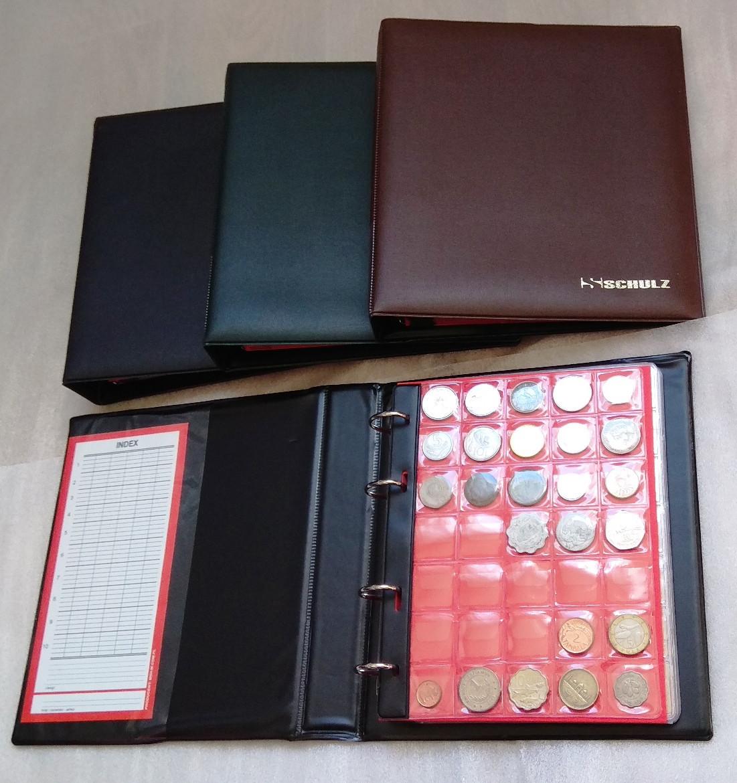 Альбом для монет 455 ячеек Schulz Универсал
