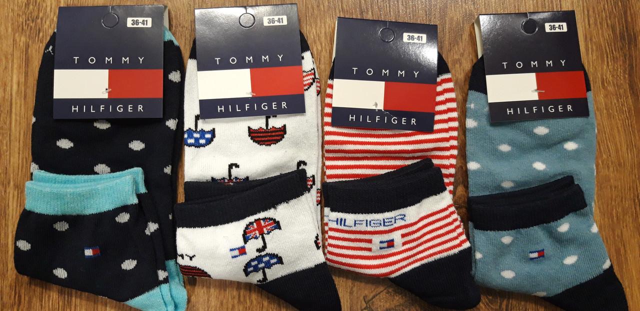 """Жіночі стрейч.шкарпетки в стилі""""Tommy А""""Туреччина(36-41),середні"""