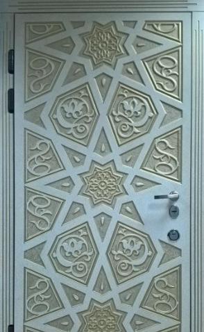 """Входная дверь """"Портала"""" (серия Элит) ― модель Агни Patina"""