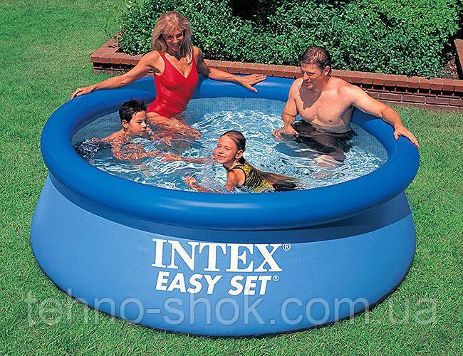 Наливной бассейн Intex Easy Set Pool, 244х76 см (28110) (56970)