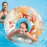 Надувной круг Intex 59251 «Перламутр», 91 см, Три цвета, фото 3