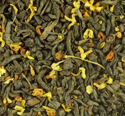 Чай Зеленый с османтусом (минимальная отгрузка 0,5 кг)