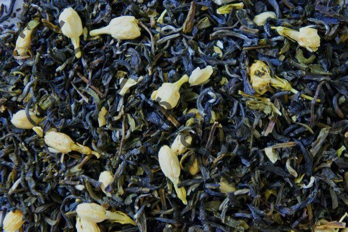 Зеленый чай Рецепт Мао (Мао Фенг) с жасмином (минимальная отгрузка 0,5 кг)