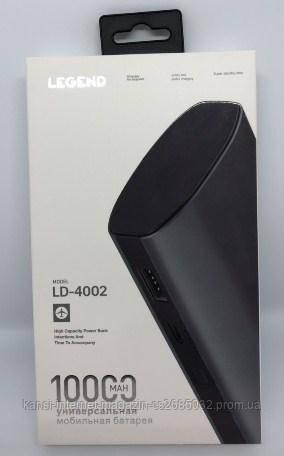 Power bank LEGEND 10000 mah LD4002, портативное зарядное к телефону