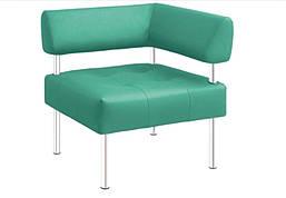 Крісло OFFICE ACC OFFICE кутове для зон відпочинку і очікування.
