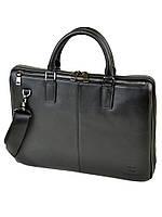 Мужской кожаный портфель BRETTON BE 1599-1 черный мужской натуральная кожа три отдела 40х29х9см