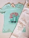 Леггинсы модные для девочки Динара Размеры 116- 158 Белый цвет, фото 2