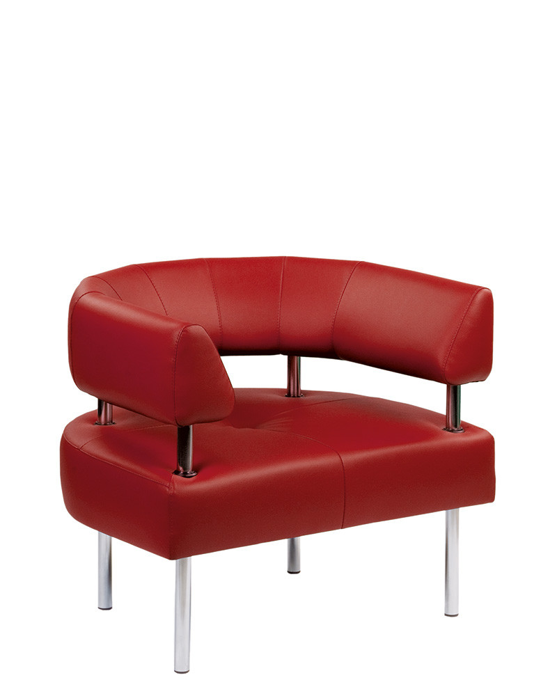 Кресло OFFICE ACR округлое для зон отдыха и ожидания.