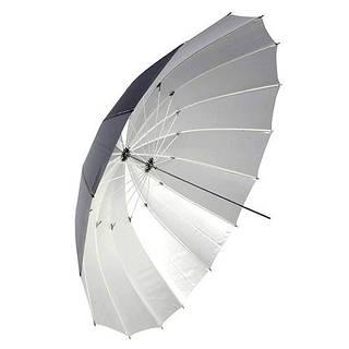 """Зонт Falcon параболический черно/белый 72"""" (180 см) 16спиц (AU-170 72"""")"""