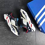 Чоловічі кросівки Adidas life balance (темно-сині), фото 2