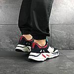 Чоловічі кросівки Adidas life balance (темно-сині), фото 3