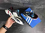 Чоловічі кросівки Adidas life balance (темно-сині), фото 5