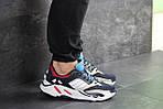 Чоловічі кросівки Adidas life balance (темно-сині), фото 6