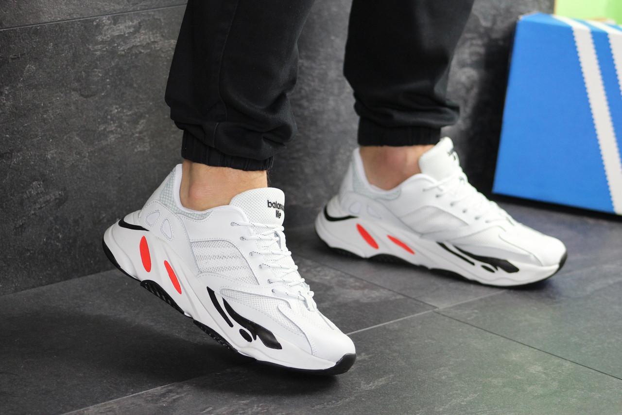 Мужские кроссовки Adidas balance life (белые)