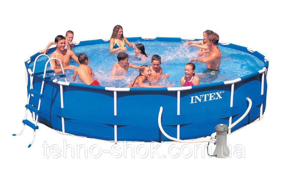 Бассейн каркасный INTEX 457х91 см (28232) (54942)