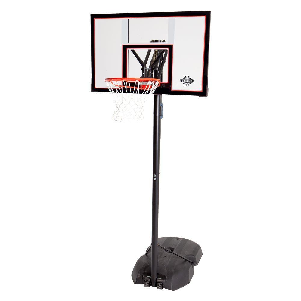 Мобильная баскетбольная стойка LIFETIME NEW YORK DOWNTOWN 90173, производство США