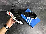 Мужские кроссовки Adidas balance life (черно-белые), фото 3