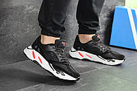 Мужские кроссовки Adidas balance life (черно-белые)
