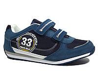 Весенние кроссовки на липучках для мальчика Biki 32р