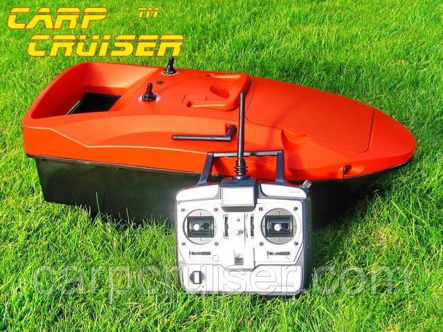 Кораблик короповий Carp Cruiser Воаt-SOL з літієвими батареями 7,4 В 2шт*10.4 А