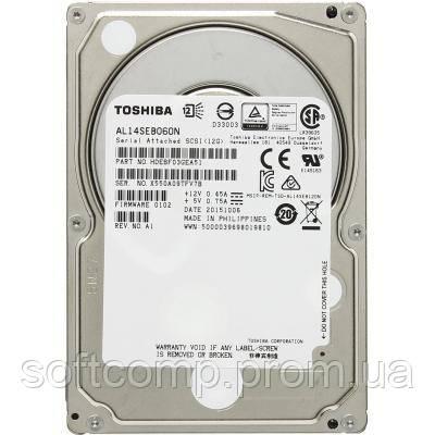 Жесткий диск для сервера 600GB TOSHIBA (AL14SEB060N)