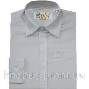 Рубашка с коротким рукавом (светло-серая), Bogi