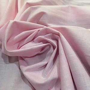 Ткань лён стрейч розовый
