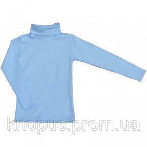 Гольф школьный   голубой, Маленькие люди, размер 140-146