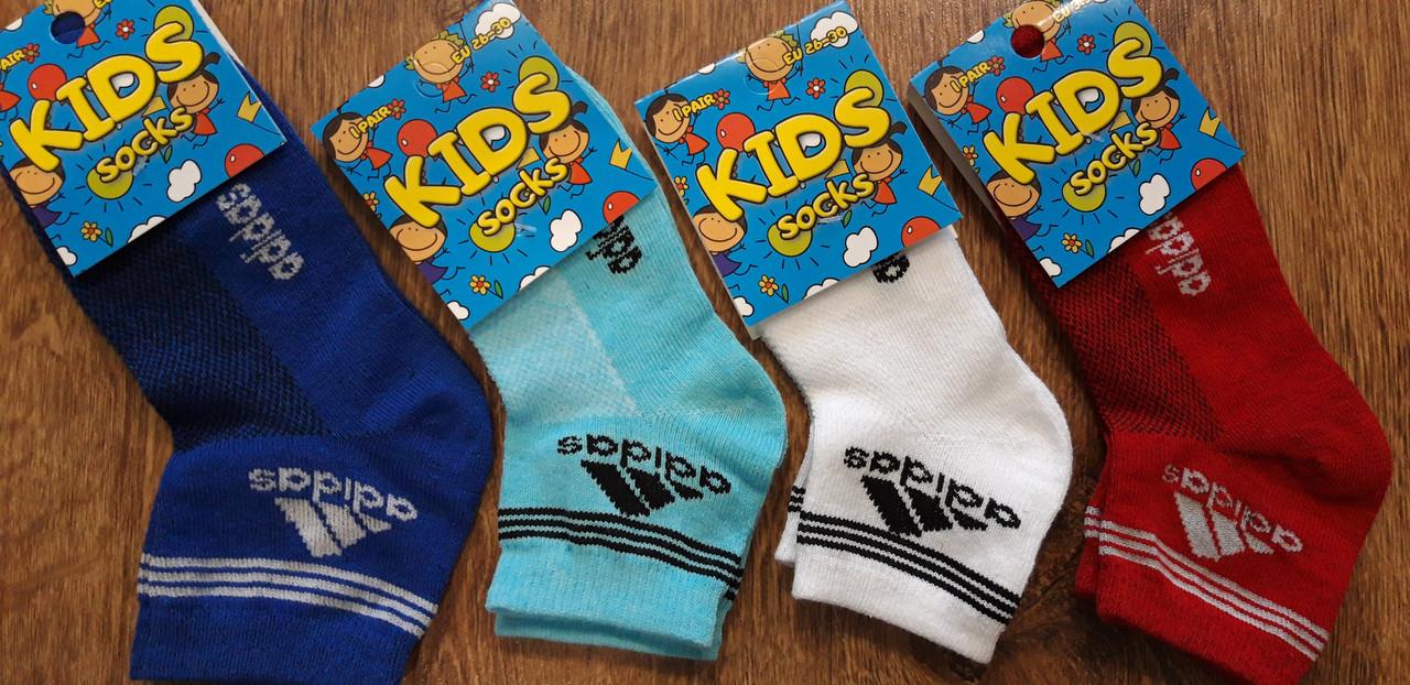 """Дитячі шкарпетки стрейч.сітка """"Sport Kids"""" Туреччина 26-30 та 31-35 Adidas"""