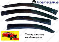 Ветровики Mercedes-Benz C-Class Sd (W204) 2006-2014 (VL-Tuning), фото 1