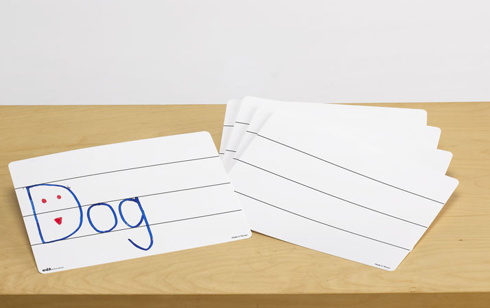 Многоразовые листы для письма. Линейка (1 шт) EDX Education