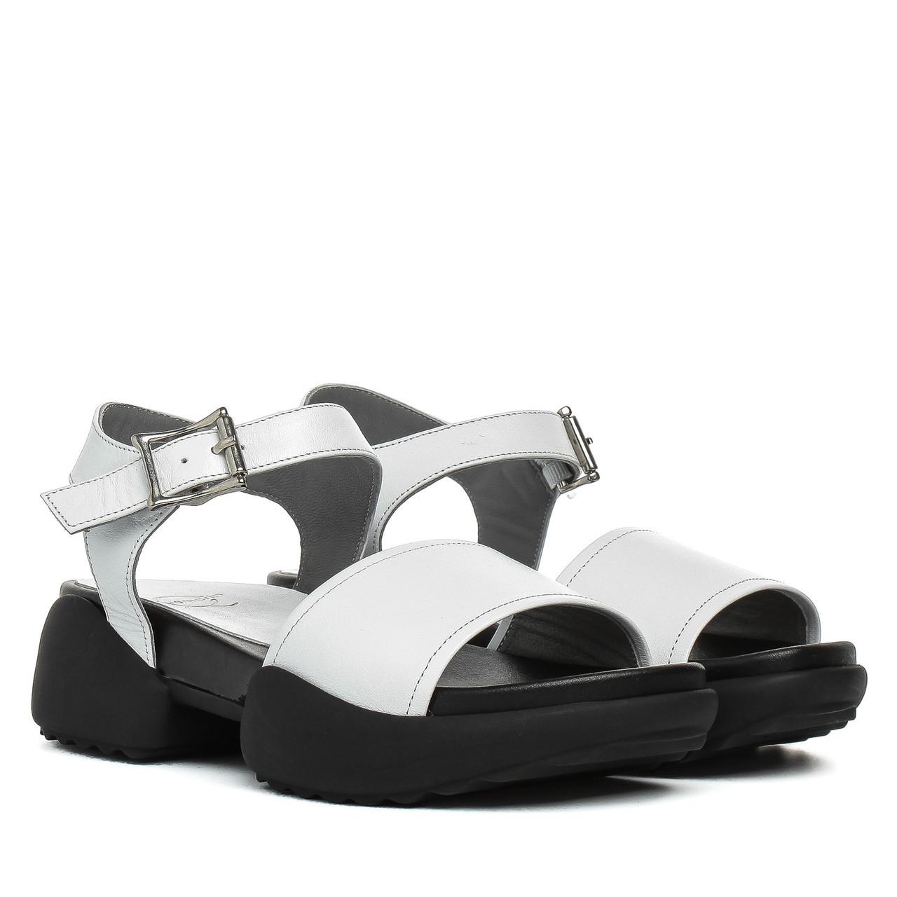 8508298bb Босоножки женские AQUAMARIN (белые, кожаные, удобные, модные) - Интернет- магазин