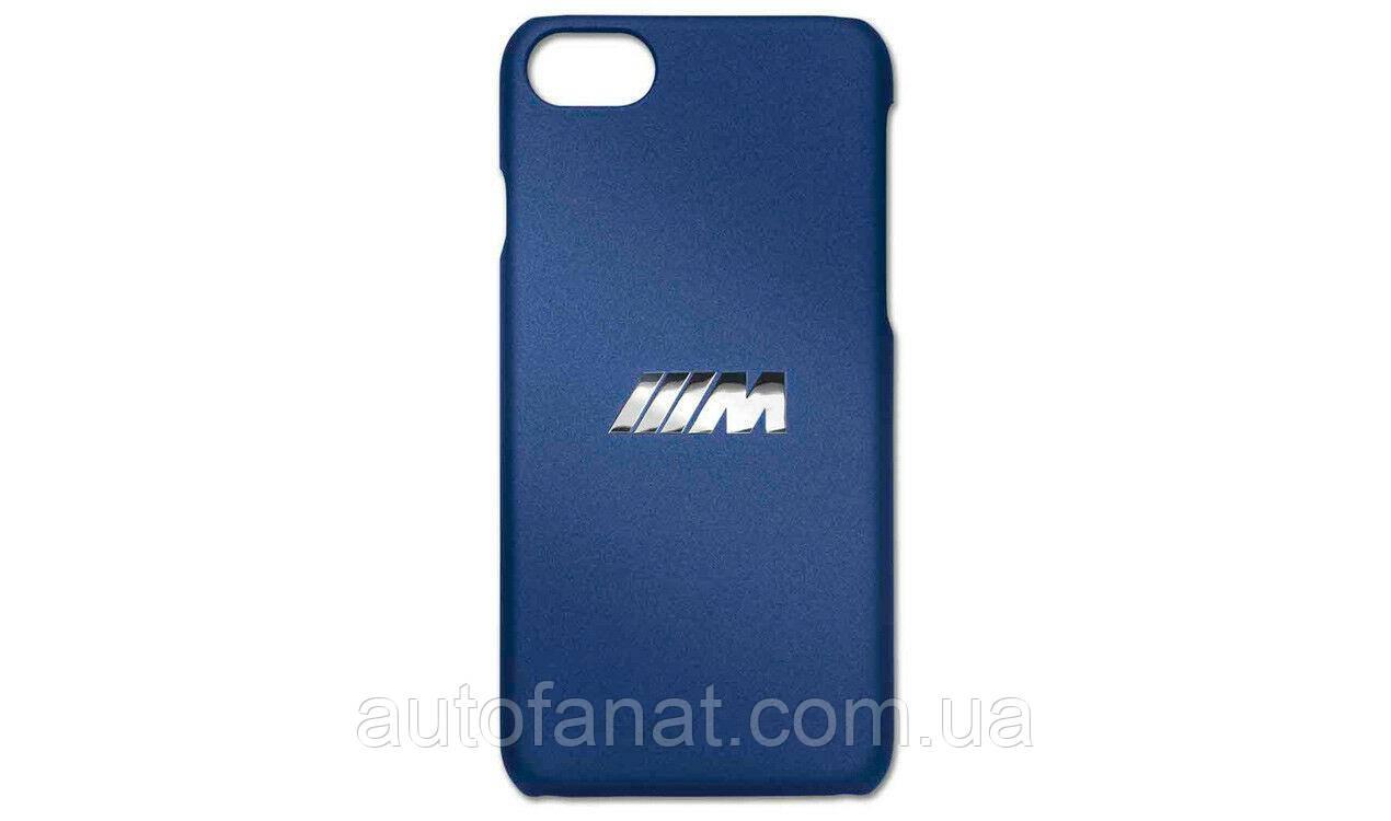 Оригинальный чехол BMW M для iPhone 7/8, Marina Bay Blue (80212454832)