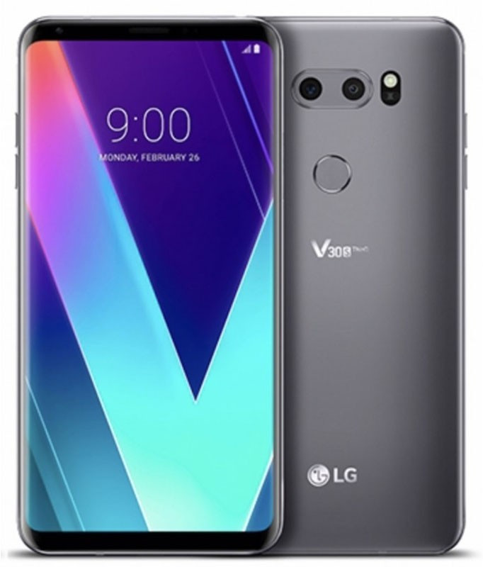 Смартфон LG V30S+ ThinQ 6/256GB Platinum Gray