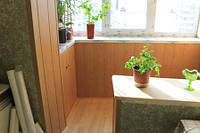 Совмещение кухни с балконом в панельном доме