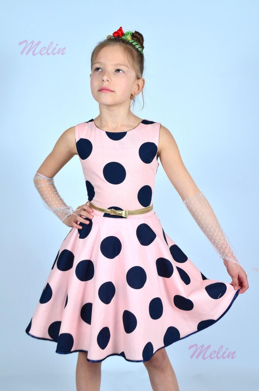 c275e5b1242 Плаття в горошок для дівчинки   продажа