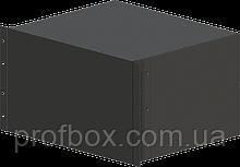 Корпус металевий Rack 6U, модель MB-6370SP (Ш483(432) Г372 В264) чорний, RAL9005(Black textured)