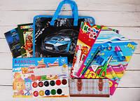 Подарочный набор школьнику для мальчика (папка Racing car)