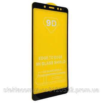 Защитное стекло 5D Xiaomi Redmi Note 5 Black