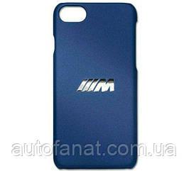 Оригинальный чехол BMW M для iPhone 7/8 Plus, Marina Bay Blue (80212454744)