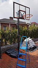Мобильная баскетбольная стойка LIFETIME NEW YORK DOWNTOWN 90173, производство США, фото 2
